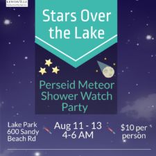 Stars Over the Lake poster, Lewisville Parks and REc