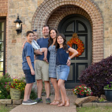 Carey Farmer and family in McKinney
