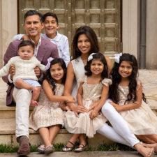 Natasha Desai and family in Preston Hollow