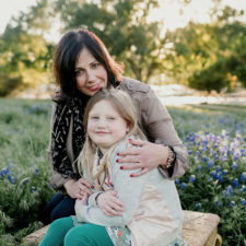 Lori Jones and daughter in Richardson