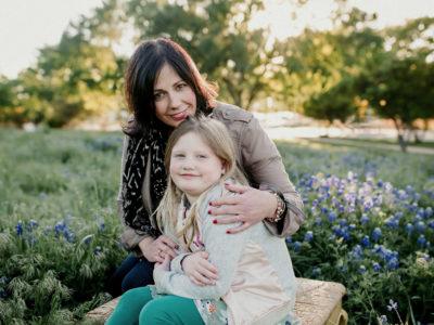 Lori Jones and daughter in Richardson