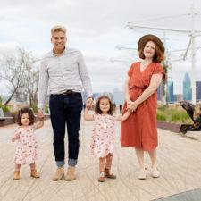Jessica Murrugarra and family in South Dallas