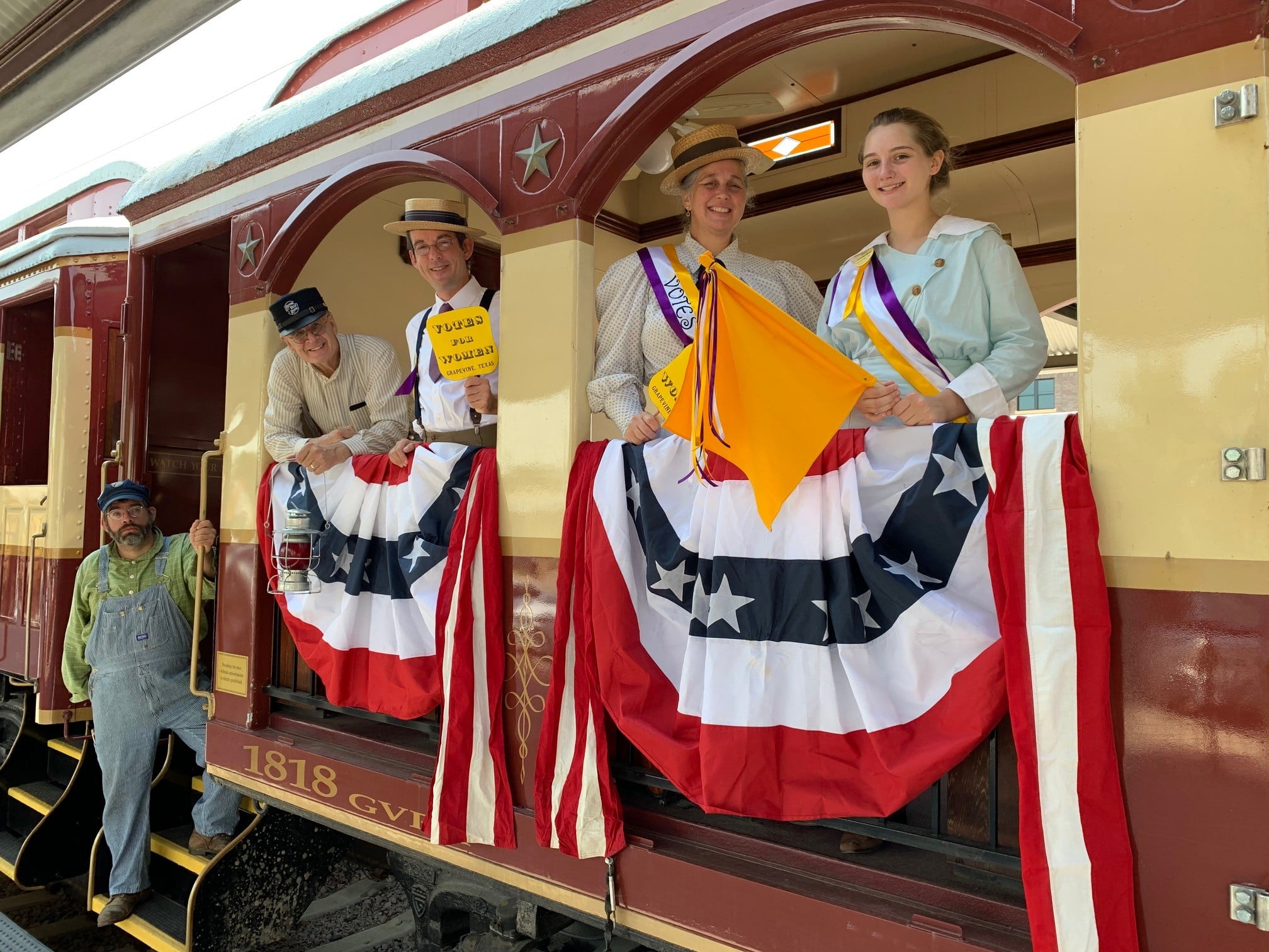 Grapevine Vintage Railroad, Women's Suffrage