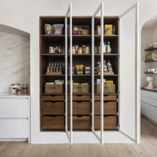 Pantry in an organized kitchen