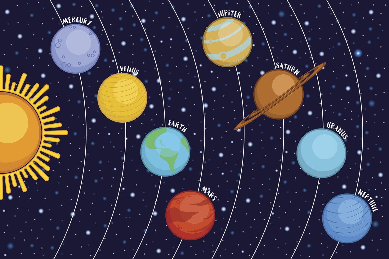 John Wagoner teaches about the solar system and astronomy