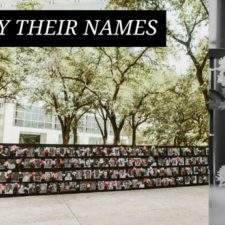 Say Their Names Memorial, Klyde Warren Park