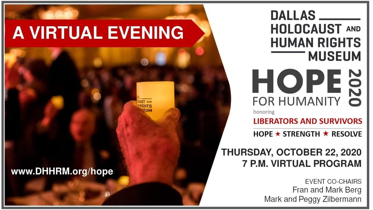 DHHRM Hope for Humanity virtual event