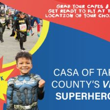 CASA's Virtual Superhero Run