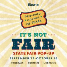 The Rustic's It's Not Fair State Fair Pop-Up