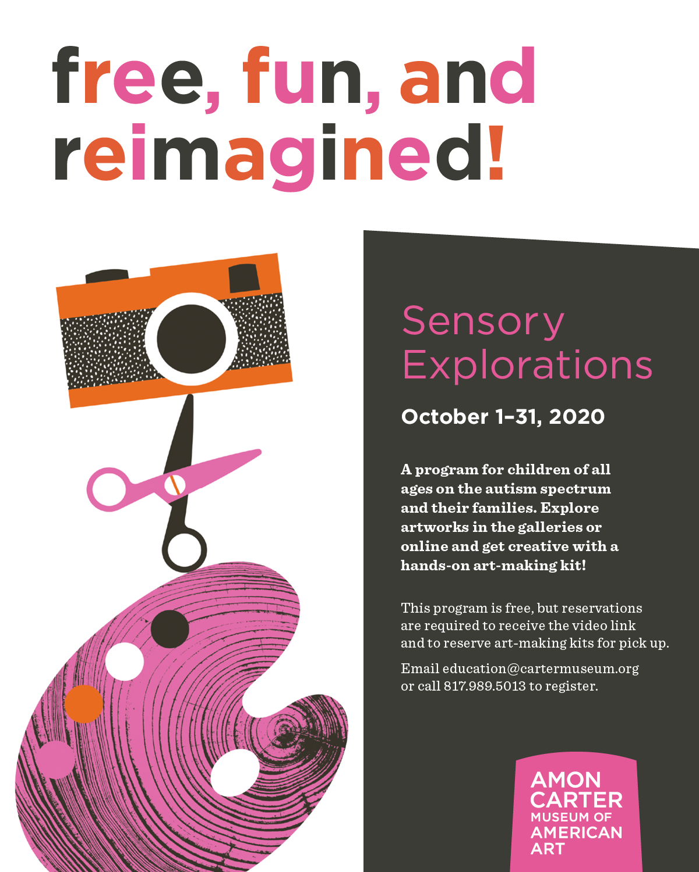 Sensory Explorations, Amon Carter Museum of American Art
