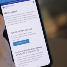 Baylor Scott and White's new hospital app resource for covid-19