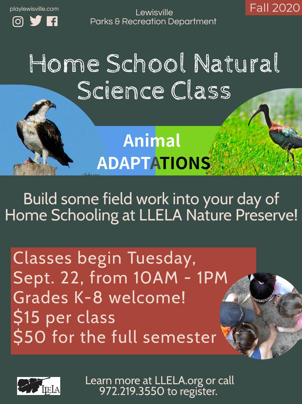 LLELA Home School Natural Science