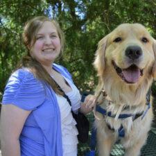 Photo courtesy of IDEA Service Dogs