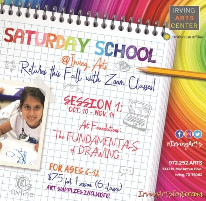 Saturday School: The Fundamentals of Drawing