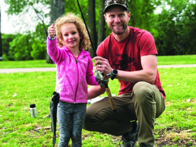 Family friendly fishing spots in Dallas Fort Worth