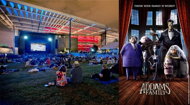 The Addams Family, Family Movie Night at Strauss Square, ATTPAC