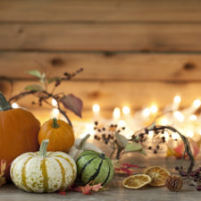Pumpkin background for fall