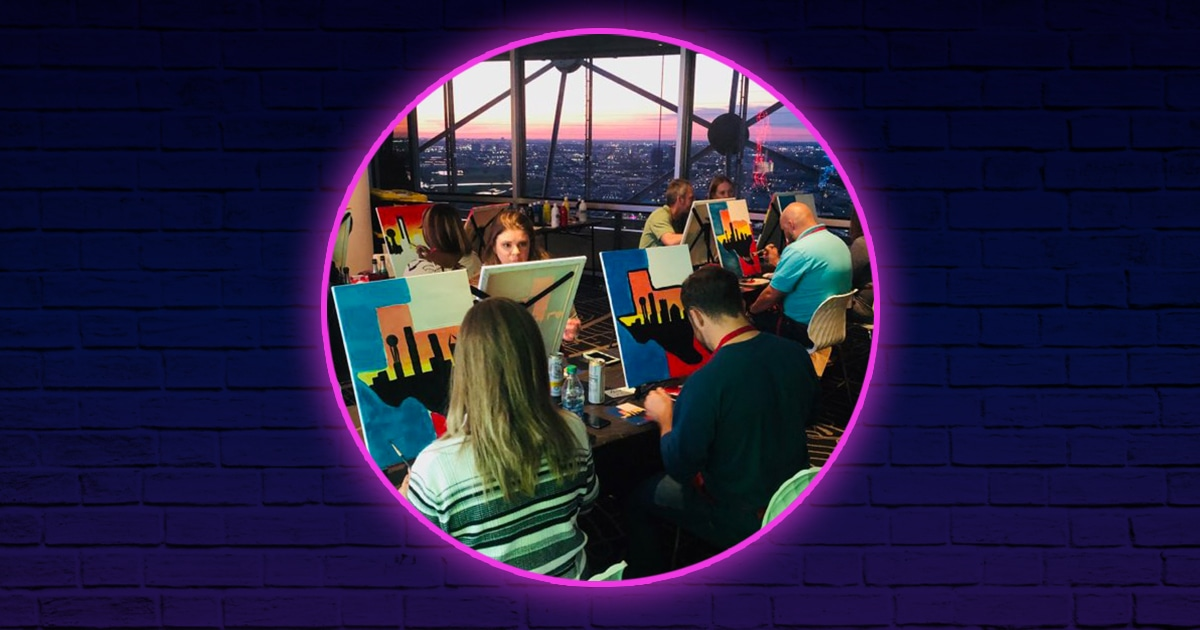 Painting with a View, Reunion Tower