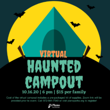 Virtual Haunted Camp Out, Plano Parks