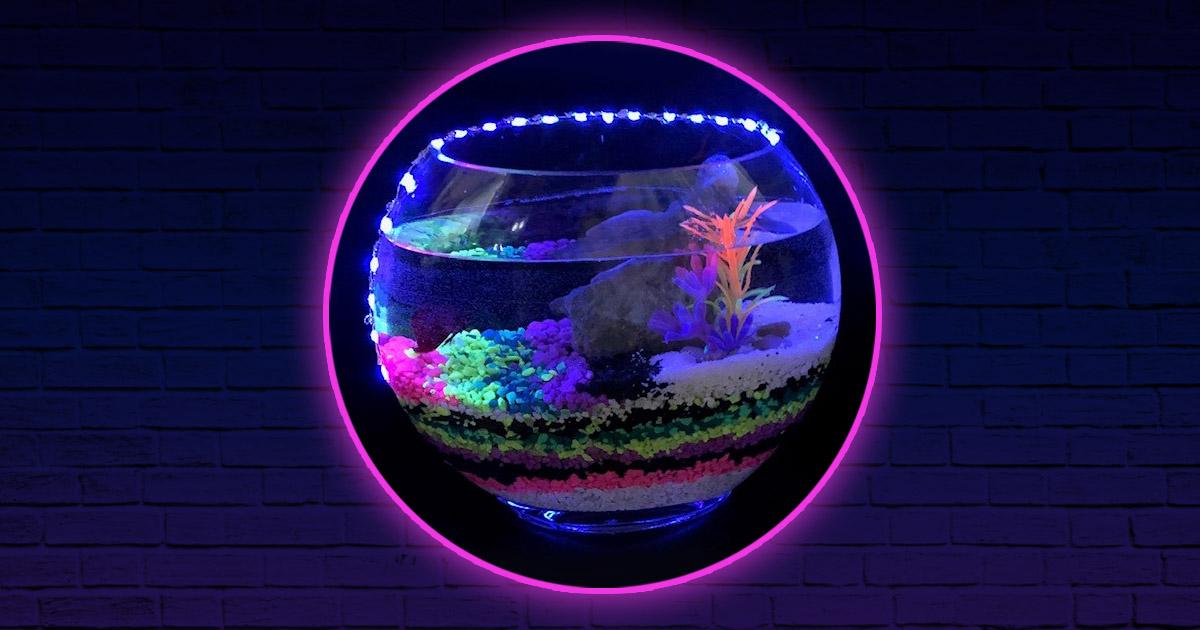 Aquarium Art at Reunion Tower
