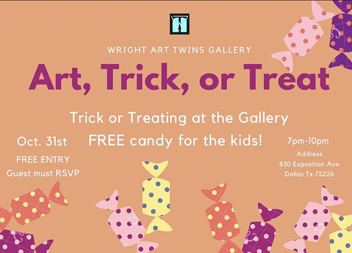 Art, Trick or Treat