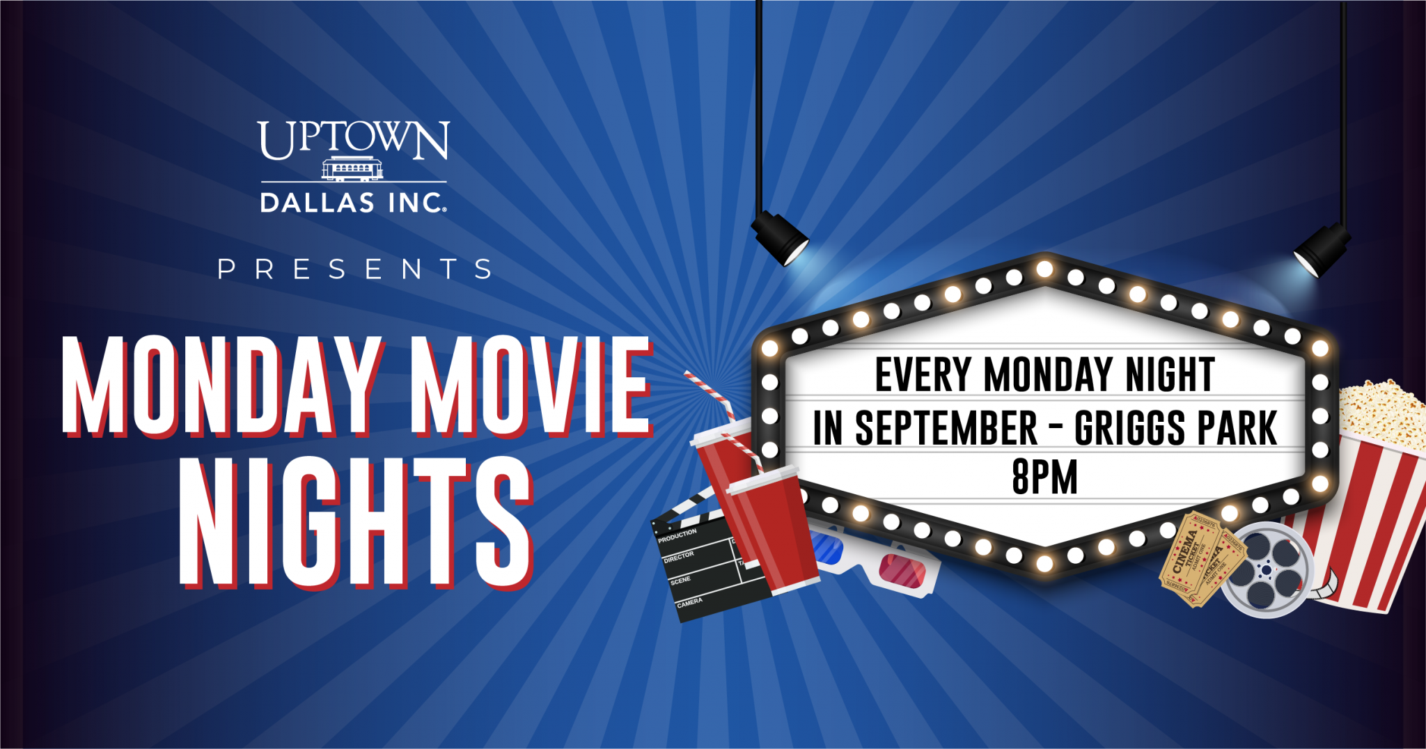 Uptown Dallas Monday Movie Nights