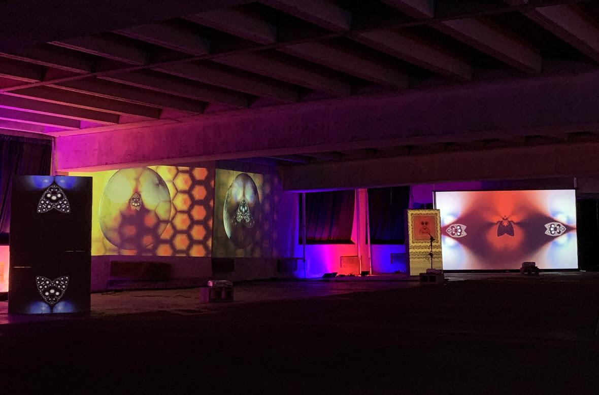 Area 3 drive-thru immersive art experience