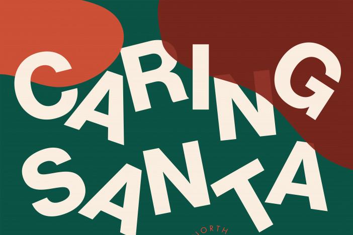 Caring Santa at Galleria Dallas