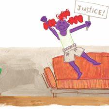 illustration of funny #momtruths
