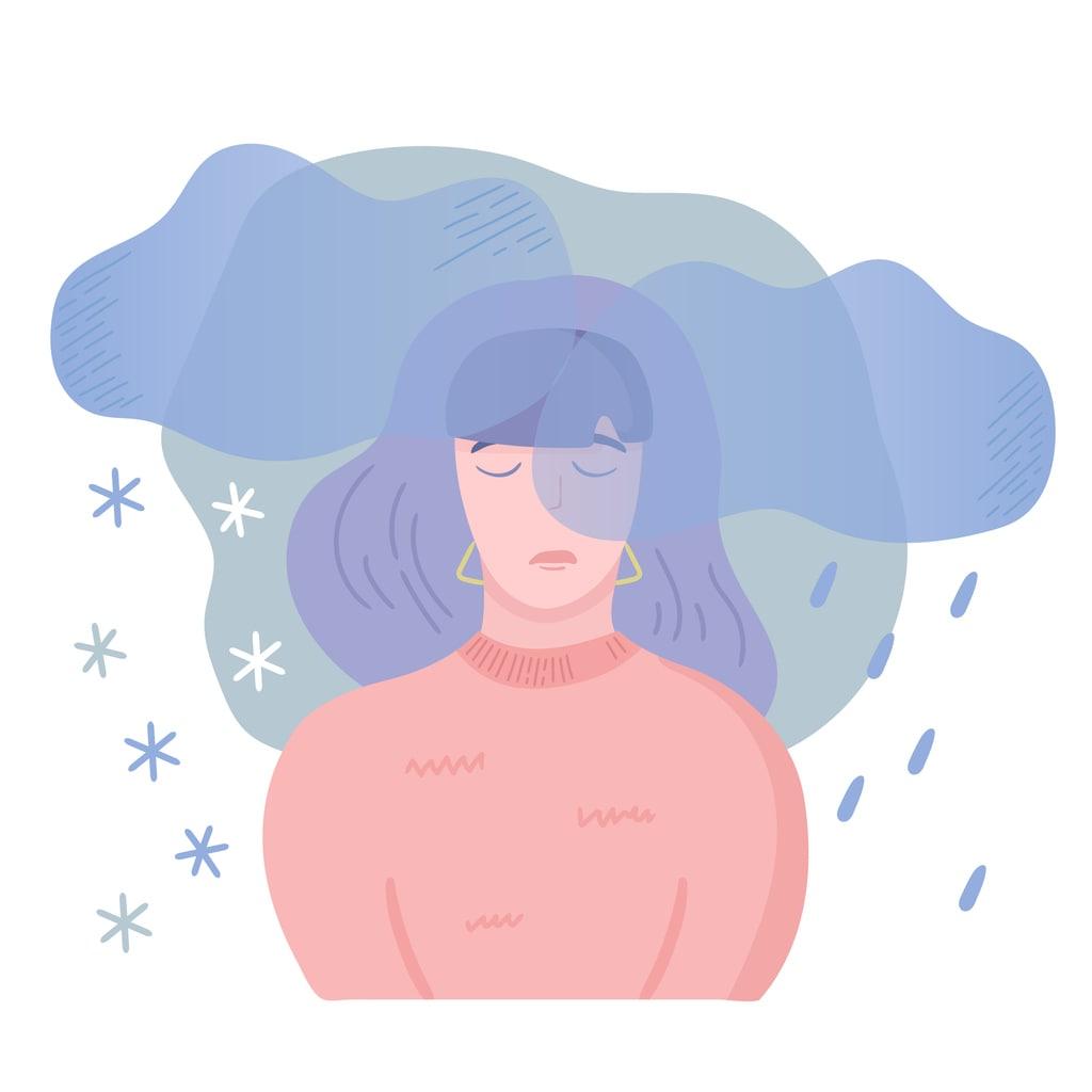 seasonal depression concept