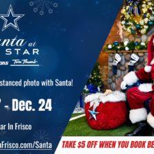 Santa at the Star, Dallas Cowboys