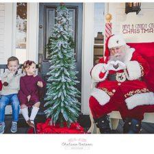 Breakfast with Santa at Bingham House in McKinney