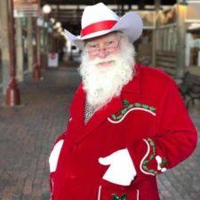 Cowboy Santa, Fort Worth Stockyards