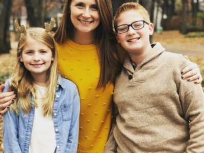 joanna waller and her kids