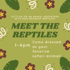 Meet the Reptiles, Sci-Tech Discovery Center