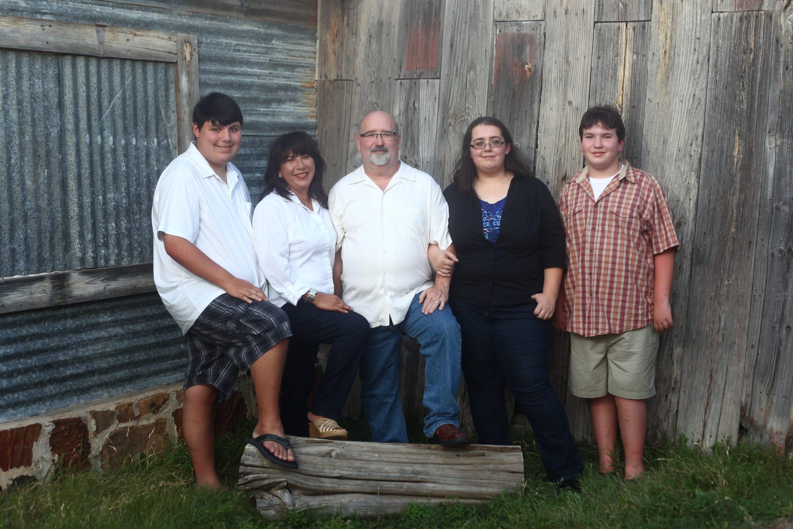 susan hancock and family