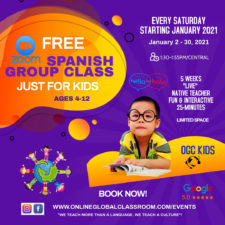 Free Spanish Zoom Classes for Kids, Online Global Classroom