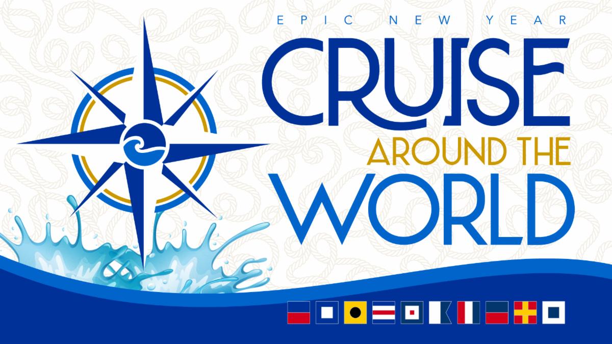 Epic Waters New Year's Eve Celebration: Cruise Around the World