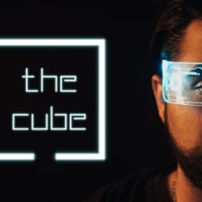 The Cube: An Interactive Experience for the Socially Distanced Era; Photo credit: Evan Michael Woods