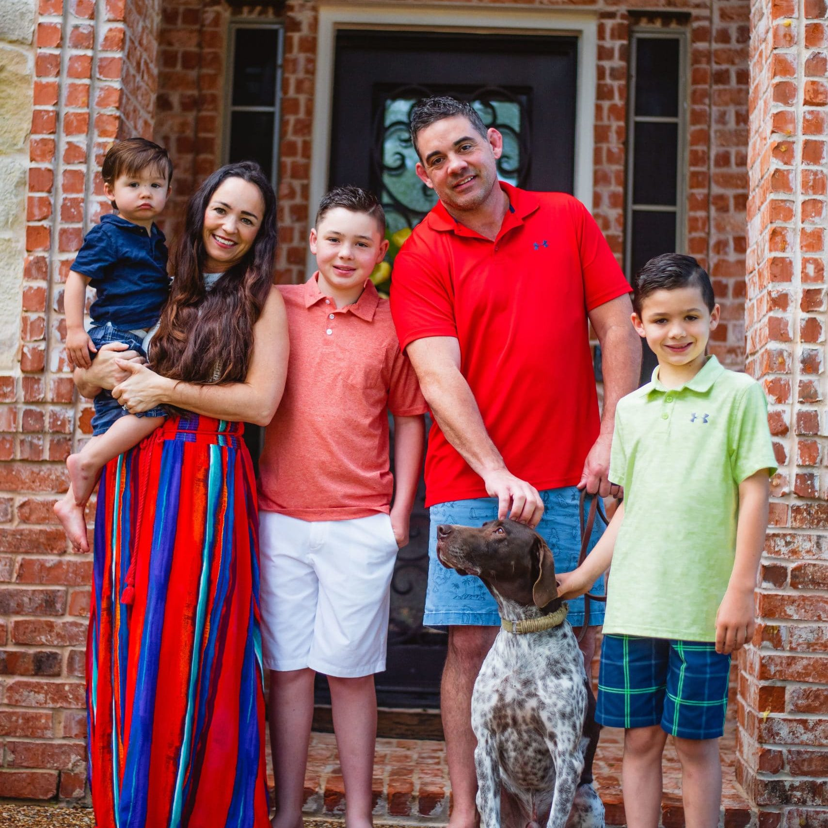 allison jernigan with family