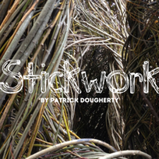 Stickwork by Patrick Dougherty, Fort Worth Botanic Garden