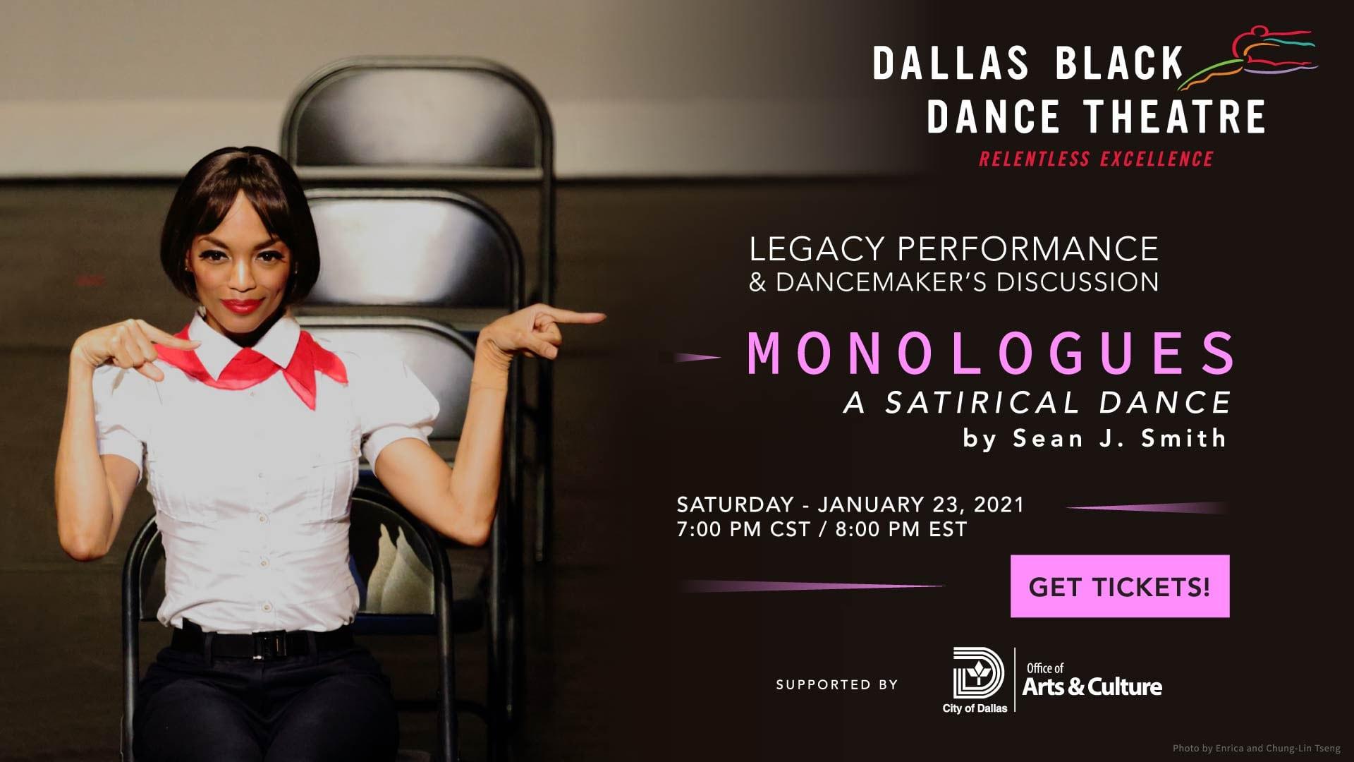 Monologues, Dallas Black Dance Theatre