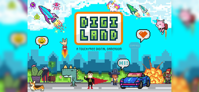 Digi Land Experience, Coppell Arts Center