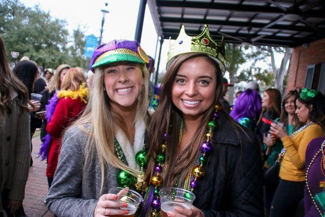 Downtown Plano Mardi Gras Crawl