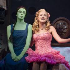 Allison Bailey & Talia Suskauer in the North American Tour of WICKED (D). Photo by Joan Marcus