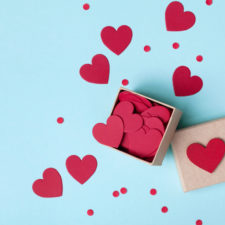 valentine's day decorations and crafts