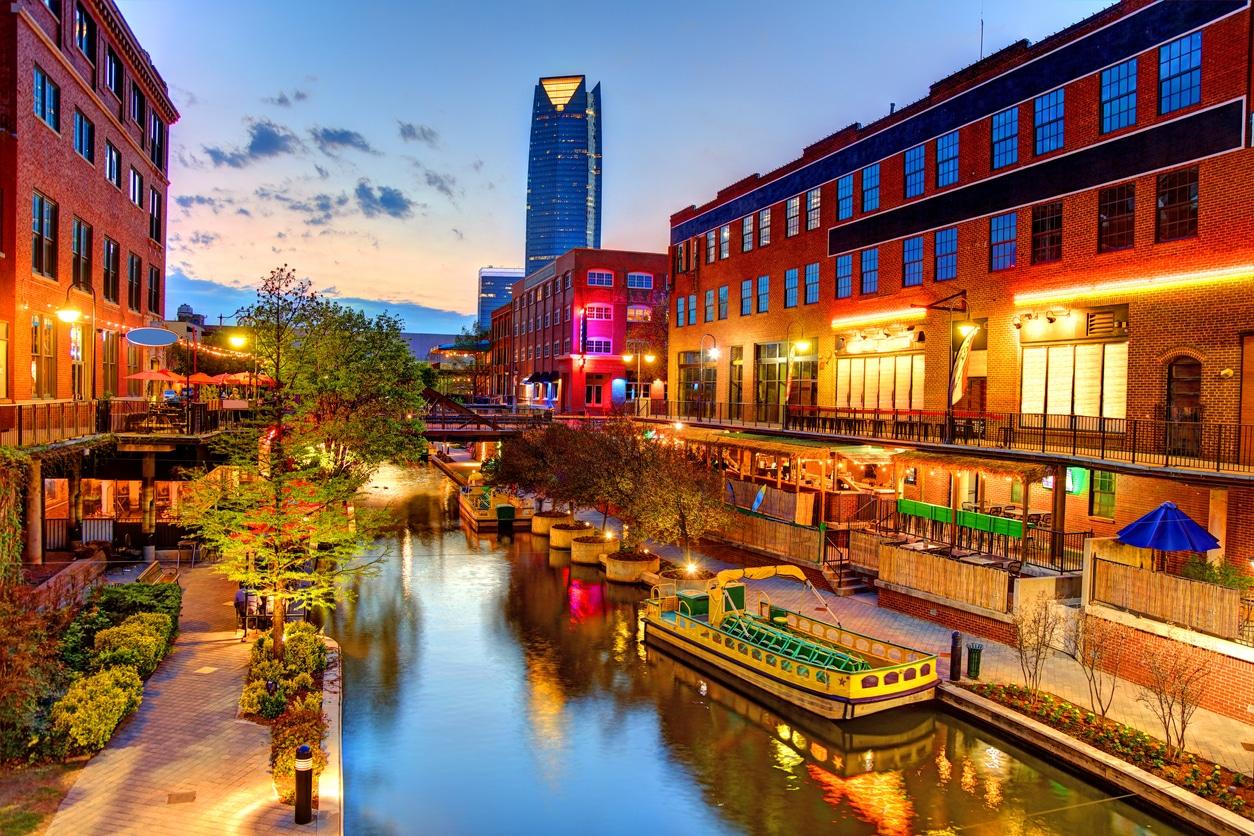 bricktown in oklahoma city