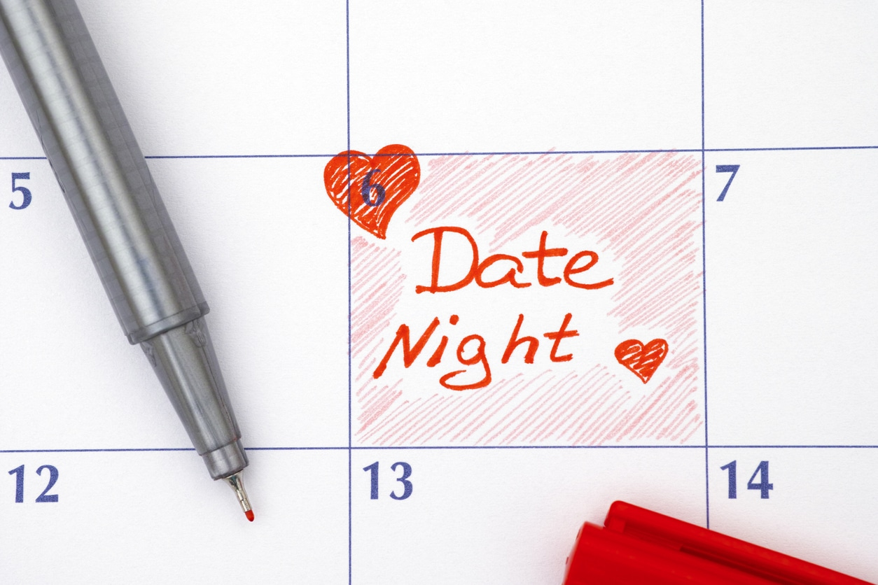 calendar reminder for date night