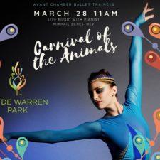 Carnival of the Animals, Avant Chamber Ballet at Klyde Warren Park