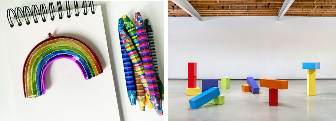 Art With Friends: Art and Rainbows, Nasher Sculpture Center and Dallas Public LIbrary